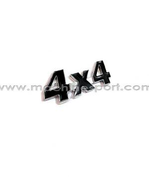 آرم 4X4 برای خودروهای انتقال قدرت موتور به چهار چرخ سایز 8.7 سانت