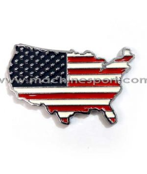 آرم اسپرت پرچم امریکا فلزی