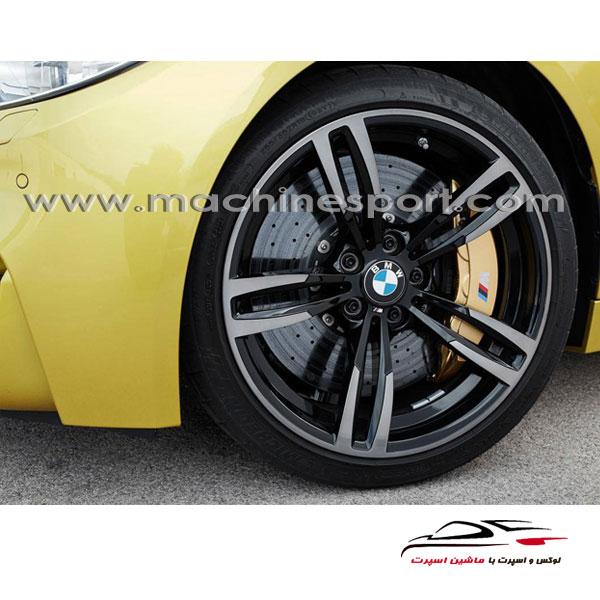آرم BMW گرد سایز کوچکش برای رو رینگی