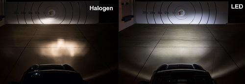 تفاوت لامپ های هالوژن، زنون ، LED و لیزر