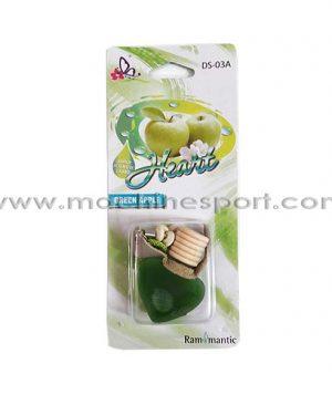 خوشبو کننده آویز قلبی عطر سیب سبز