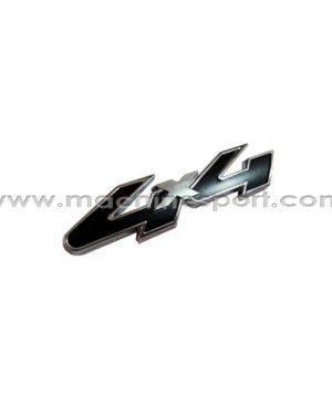 آرم 4X4 برای خودروهای انتقال قدرت موتور به چهار چرخ سایز 12.7 سانت