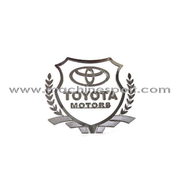 آرم خوشه دار تویوتا موتور TOYOTA MOTORS لیزری