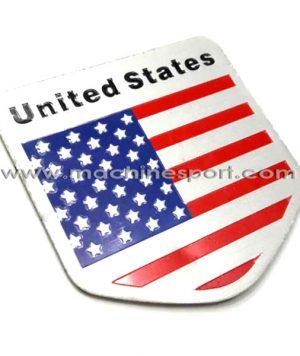آرم پرچم آمریکا united states