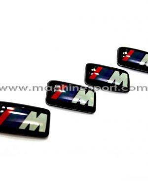 آرم BMW مینیاتوری روی رینگ دسته ی 4 تایی