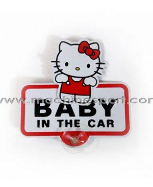 استیکر کیتی بیبی این کار Baby In Car Sticker