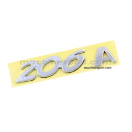آرم نوشته 206A برای پژو 206 اتومات