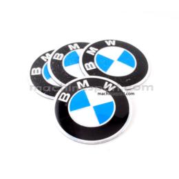 آرم BMW رو رینگی پک 4 عددی سایز 5.7 سانت