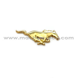 آرم فورد موستانگ Mustang طلایی رنگ 7.5سانتی