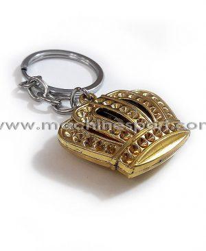 جاسوئیچی تاج یا کینگ طلایی رنگ