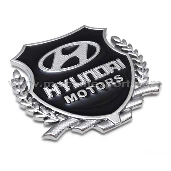 آرم خوشه دار هیوندای موتور HYUNDAI MOTORS