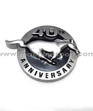 آرم فورد موستانگ Mustang سالگرد 40 سالگی