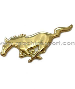 آرم فورد موستانگ Mustang طلایی رنگ 15.5 سانتی