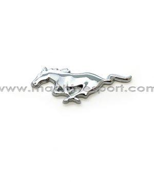 آرم فورد موستانگ Mustang نقره ای 7.6 سانت به سمت چپ