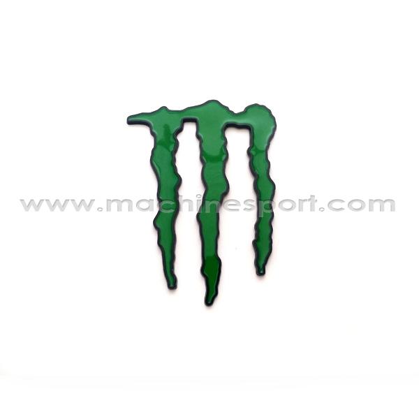 آرم مانستر انرژی هیولا سبز دور مشکی Monster Energy