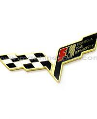 آرم مسابقات رالی جایزه بزرگ طلایی رنگ Formula one