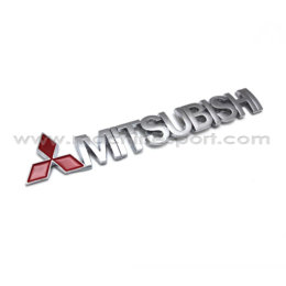 آرم و نوشته میتسوبیشی MITSUBISHI سایز 15.3 سانت