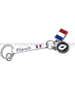 جاسوئیچی لوگو رنولت Renault با پرچم فرانسه