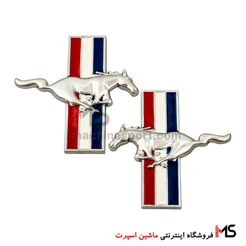 آرم اسب پرچم دار فورد موستانگ