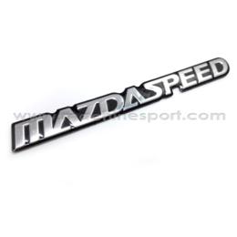 آرم مزدا اسپید MAZDA speed سایز 16 سانت