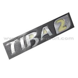 آرم و نوشته تیبا TIBA 2 درب صندوق عقب