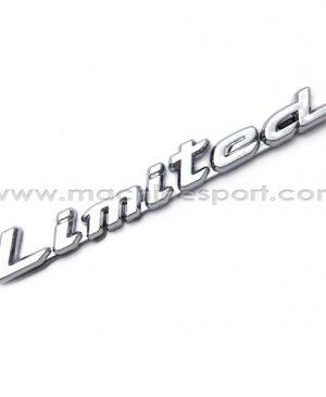 آرم و نوشته لیمیتد LIMITED برای ماشینهای تیونینگ 12 سانت