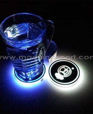 زیر لیوانی هوشمند دارای رقص نور در 7 رنگ