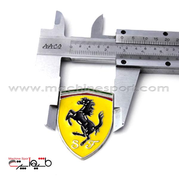 آرم فراری Ferrari سایز 2.8 سانت