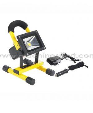 نورافکن و پروژکتور LED شارژی 30 وات پایه دار