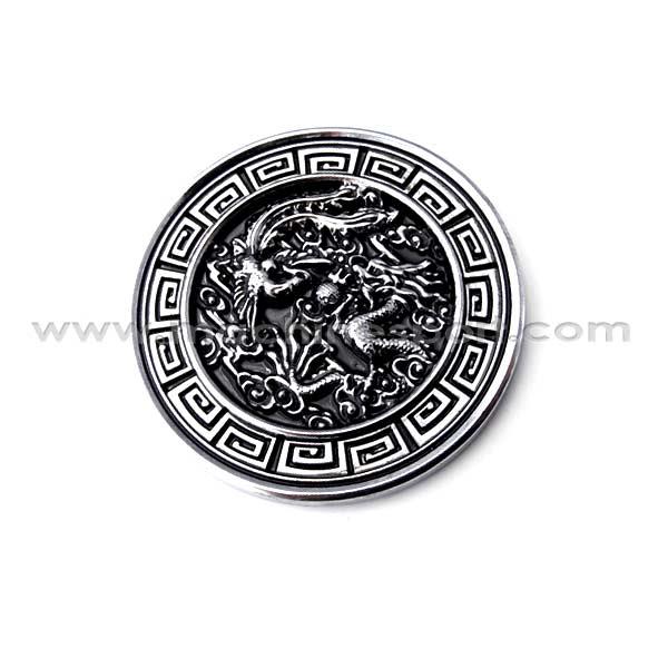آرم نماد چینی اژدها و ققنوس dragon and Phoenix