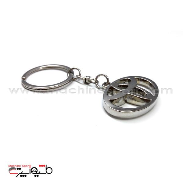 جاسوئیچی زنجیردار تویوتا Toyota نقره ای
