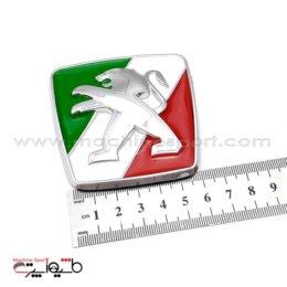 آرم پژو Peugeot با پشت زمینه پرچم ایران