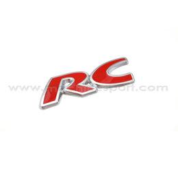 آرم آر سی RC پژو ۲۰۶ قرمز