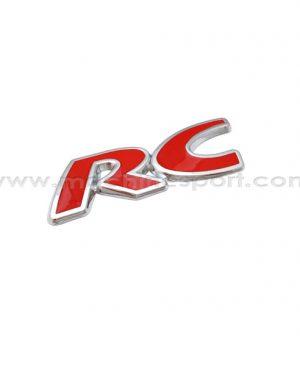 آرم اسپرت RC برای پژو 206 قرمز