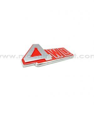 آرم 4WD چهار چرخ متحرک 11.7 سانت قرمز رنگ