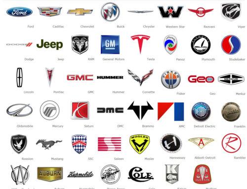 معنی و مفهوم آرم و لوگوهای شرکت های معتبر خودروسازی کشور آمریکا