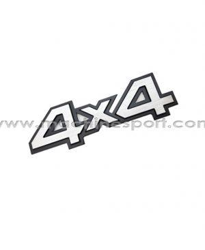 آرم 4X4 برای خودروهای انتقال قدرت موتور به چهار چرخ سایز 14 سانت