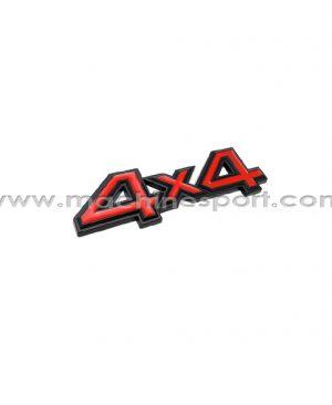 آرم 4X4 برای خودروهای انتقال قدرت موتور به چهار چرخ سایز 11 سانت