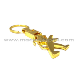 جاسوئیچی پژو PEUGEOT جدید طلایی رنگ