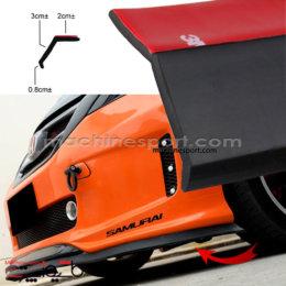 لیپ زیر سپر ماشین مشکی رنگ