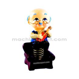 عروسک رو داشبوردی متحرک پیرمرد