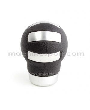 سر دنده اسپرت چرم و استیل قابل استفاده برای تمام خودرو ها