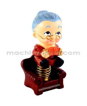 عروسک متحرک رو داشبوردی مادر بزرگ