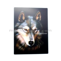 استیکر سه بعدی گرگ Wolf