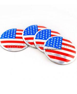 آرم کاپ رینگ اسپرت پرچم آمریکا