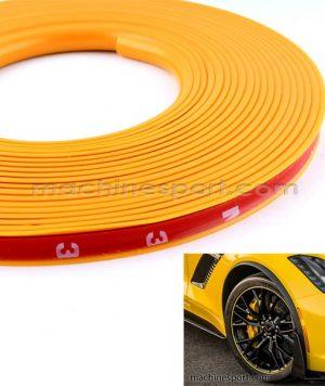 نوار دور رینگ اسپرت زرد مناسب رینگ خودرو