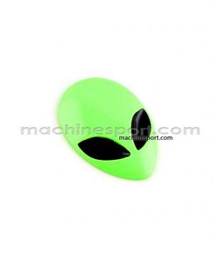 آرم آدم فضایی رنگ سبز فسفری