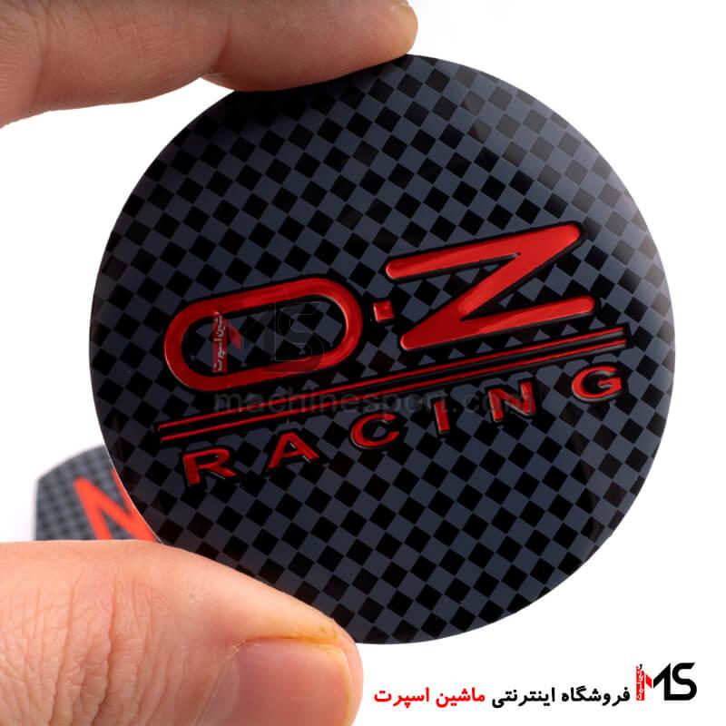 آرم کاپ رینگ OZ Racing طرح کربن