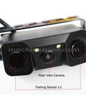 سنسور پارک و دوربین دنده عقب بدون آسیب به سپر