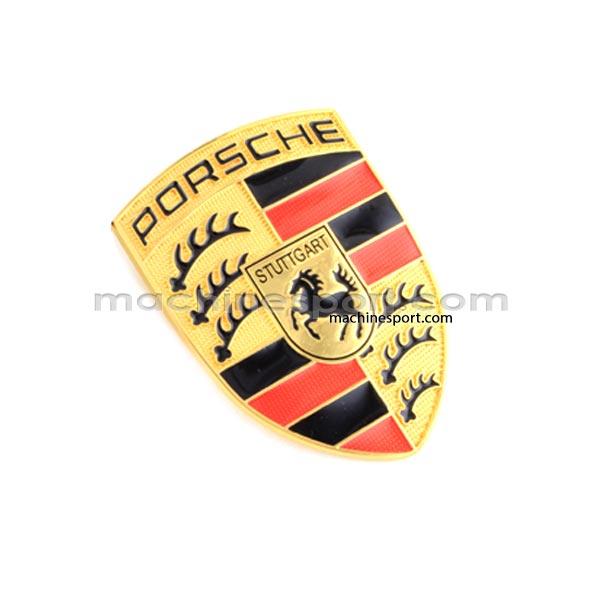 لوگو پورشه Porsche طلایی